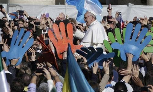 Lễ nhậm chức của Giáo hoàng Francis - 7