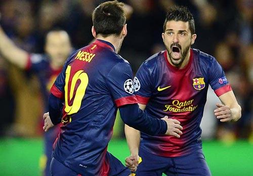 Song sát Messi–Villa: Trở lại&lợi hại gấp đôi - 1