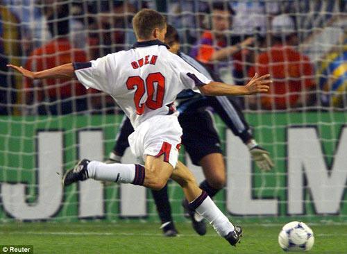 Owen: Nhớ mãi khoảnh khắc World Cup 98 - 1