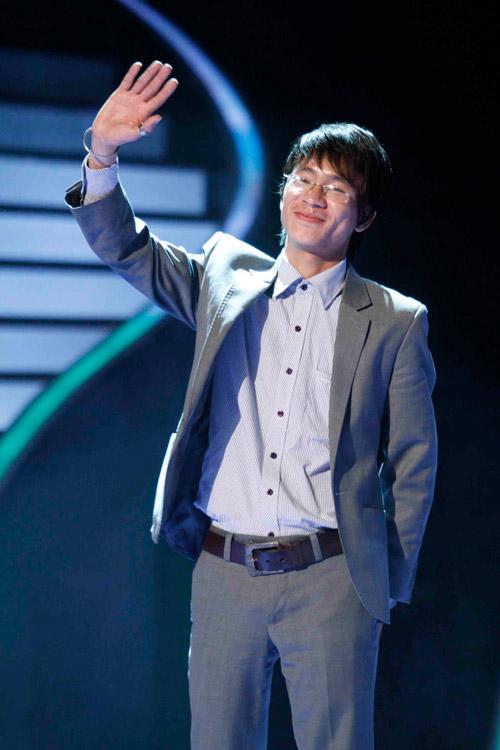 Trần Hữu Kiên lọt thẳng chung kết VN' Got Talent - 1