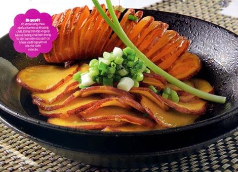 Món ăn ngon, vị thuốc quý từ khoai lang - 1