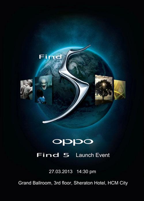 OPPO xác nhận ngày ra mắt Find 5 - 1