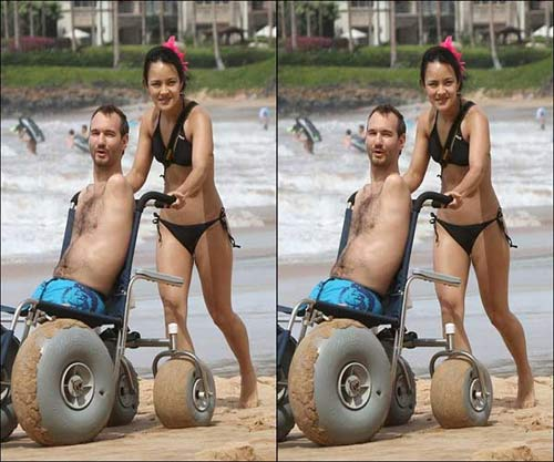 1363781172 vo nguoi khong tay chan12 Nick Vujicic and Kanae Miyahara: An Inspiring Life and Love Story