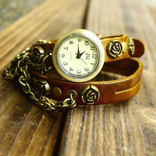 Thử sức với đồng hồ dây da - 7