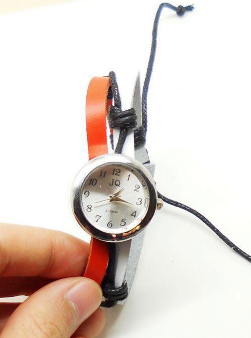 Thử sức với đồng hồ dây da - 8