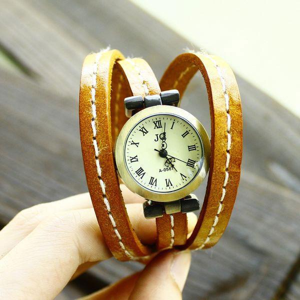 Thử sức với đồng hồ dây da - 2