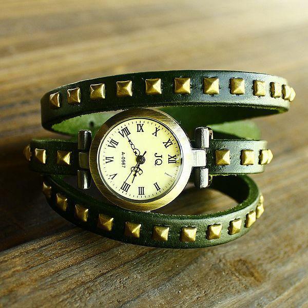 Thử sức với đồng hồ dây da - 16