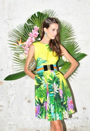 Họa tiết nhiệt đới mát lành gọi hè, Thời trang, thoi trang, hoa tiet, thời trang, hoa tiet soi dong, hoa tiet in, xu huong hoa tiet,