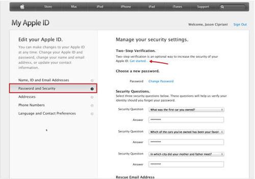 Cách cài đặt chứng thực 2 bước cho Apple ID - 2