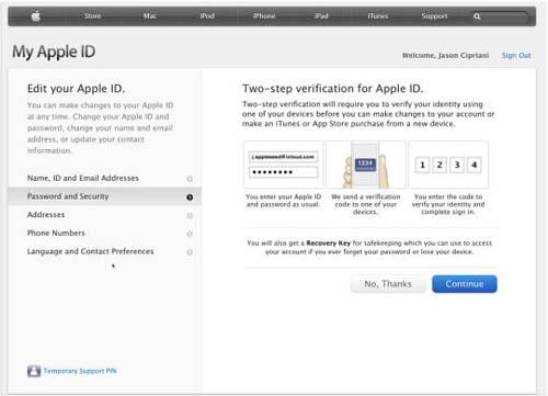 Cách cài đặt chứng thực 2 bước cho Apple ID - 3