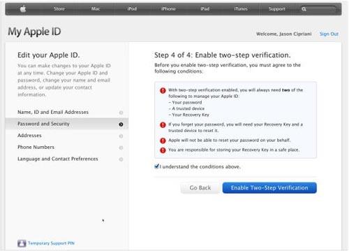 Cách cài đặt chứng thực 2 bước cho Apple ID - 5