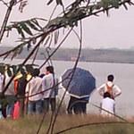 Tin tức trong ngày - Chụp ảnh ở bãi đá sông Hồng, nam SV chết đuối