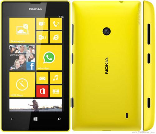 Nokia Lumia 520 lên kệ giá mềm - 3