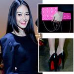 Thời trang - Ngắm xắc tay 40 triệu của á hậu Linh Chi