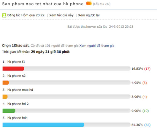 Revo HD4 có thể là smartphone khó mua của HKPhone - 2