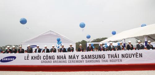 Samsung đầu tư 2 tỷ USD xây dựng nhà máy ở Thái Nguyên - 2