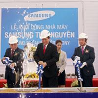 Samsung đầu tư 2 tỷ USD xây dựng nhà máy ở Thái Nguyên