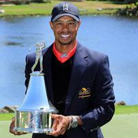 Tiger Woods chính thức lên số 1 TG