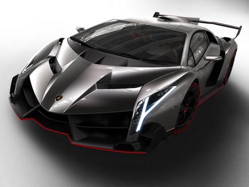 Lamborghini Veneno gầm gừ rời Geneva - 12