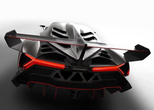Lamborghini Veneno gầm gừ rời Geneva - 3