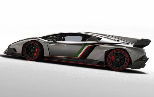 Lamborghini Veneno gầm gừ rời Geneva - 4