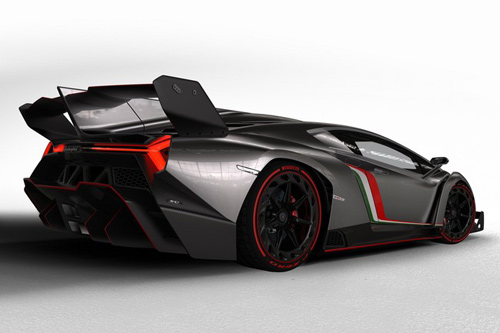 Lamborghini Veneno gầm gừ rời Geneva - 5