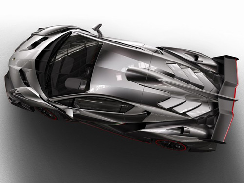 Lamborghini Veneno gầm gừ rời Geneva - 6