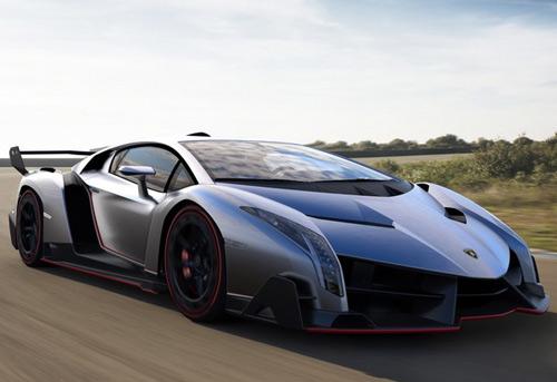 Lamborghini Veneno gầm gừ rời Geneva - 7