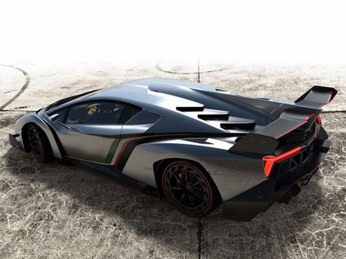 Lamborghini Veneno gầm gừ rời Geneva - 8