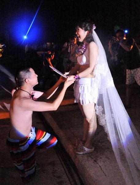 Những đám cưới kỳ quái ở Trung Quốc - 5