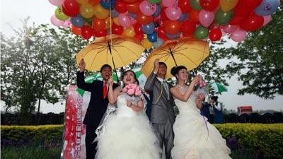 Những đám cưới kỳ quái ở Trung Quốc - 10