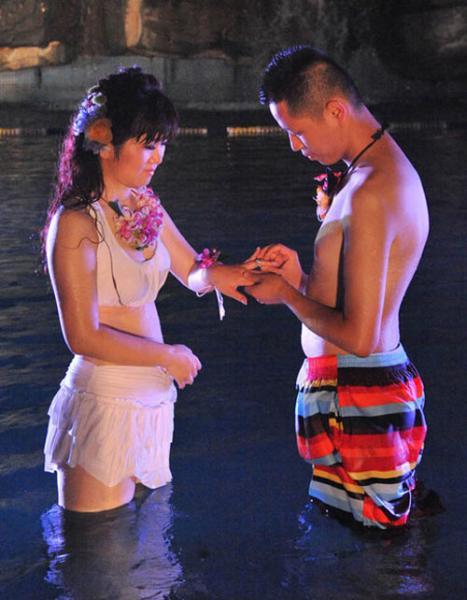 Những đám cưới kỳ quái ở Trung Quốc - 7