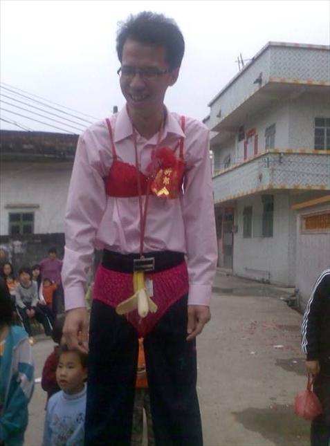 Những đám cưới kỳ quái ở Trung Quốc - 3