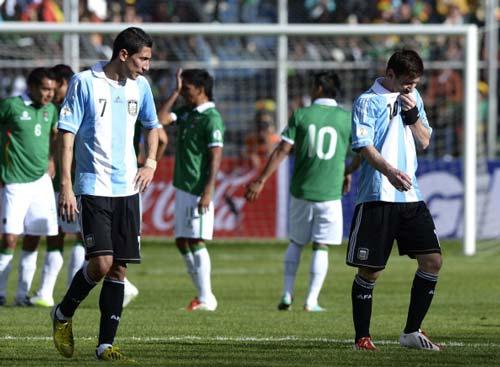 "Argentina: ""Tai nạn"" của Messi - 2"