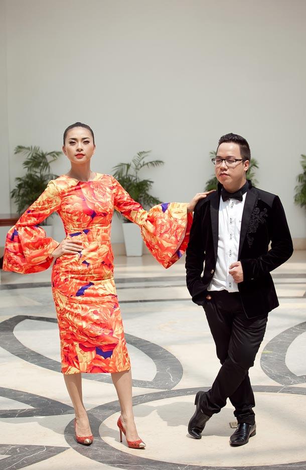 Ngô Thanh Vân chói chang với sắc hoa - 8