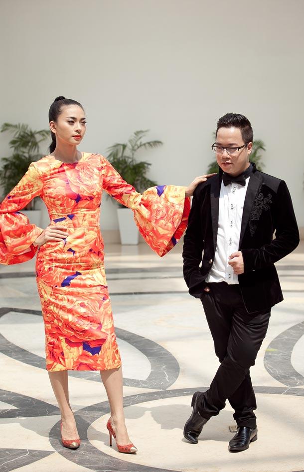 Ngô Thanh Vân chói chang với sắc hoa - 9