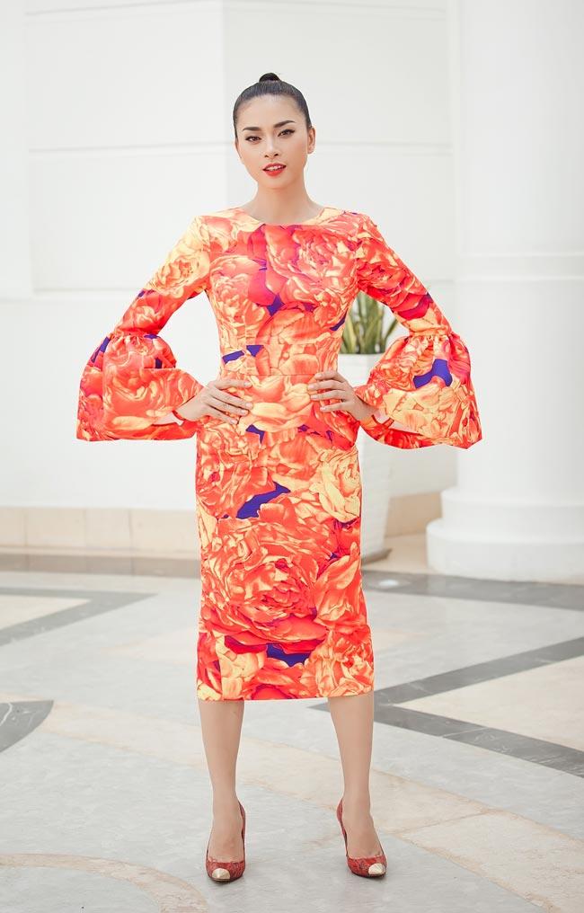 Ngô Thanh Vân chói chang với sắc hoa - 3