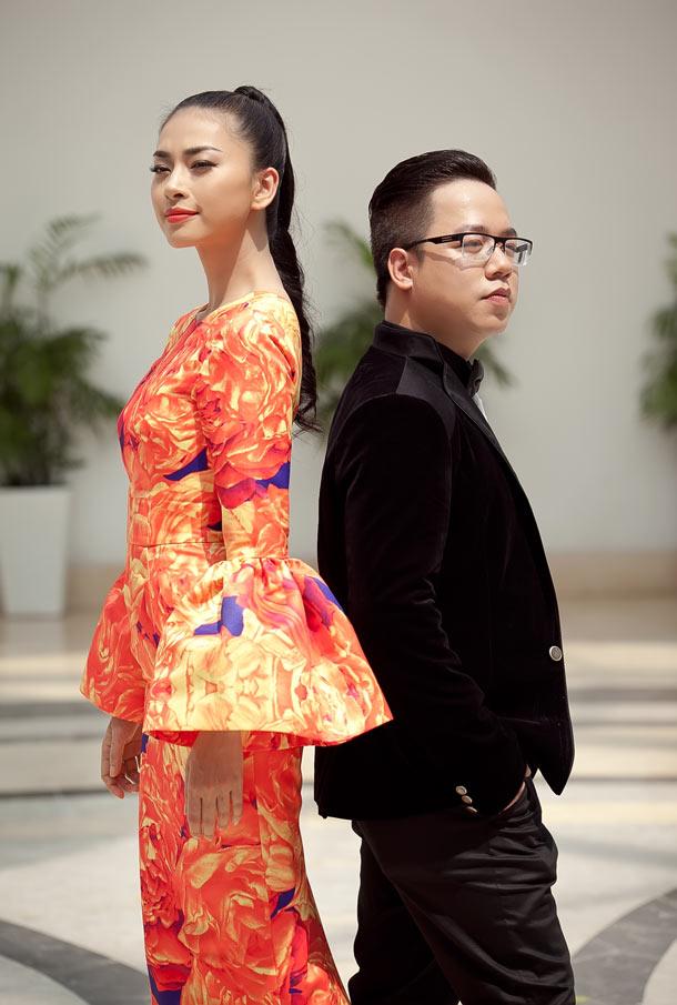 Ngô Thanh Vân chói chang với sắc hoa - 10
