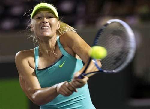 Errani - Sharapova: Bản lĩnh (Tứ kết Miami Masters) - 1