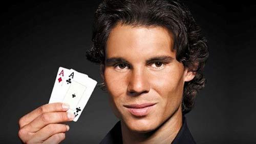 Tạm nghỉ tennis, Nadal chơi poker - 1