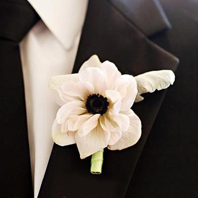 Hoa cài áo tinh tế cho chú rể - 13