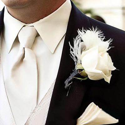 Hoa cài áo tinh tế cho chú rể - 5