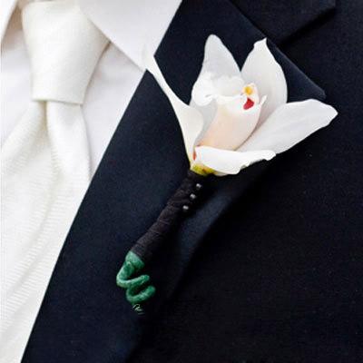 Hoa cài áo tinh tế cho chú rể - 6