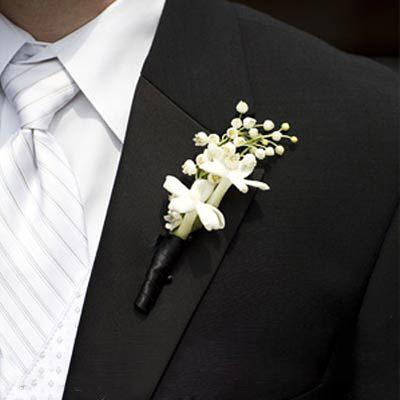 Hoa cài áo tinh tế cho chú rể - 7