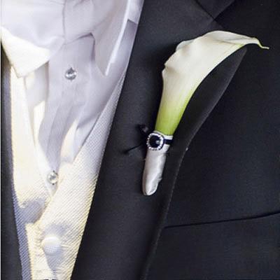 Hoa cài áo tinh tế cho chú rể - 4
