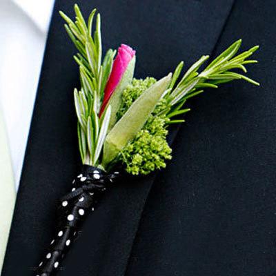 Hoa cài áo tinh tế cho chú rể - 2