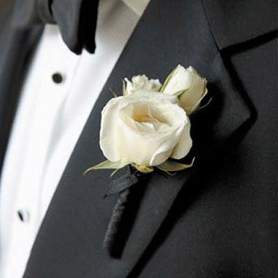 Hoa cài áo tinh tế cho chú rể - 17