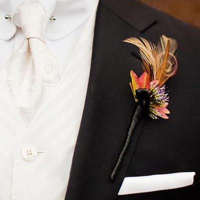 Hoa cài áo tinh tế cho chú rể - 16