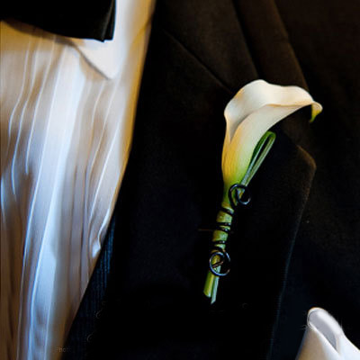Hoa cài áo tinh tế cho chú rể - 15