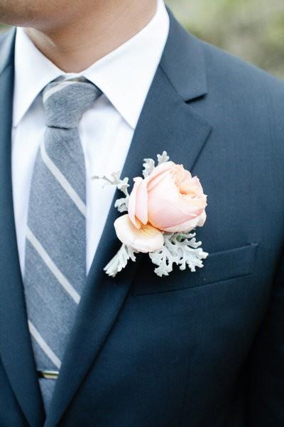 Hoa cài áo tinh tế cho chú rể - 10